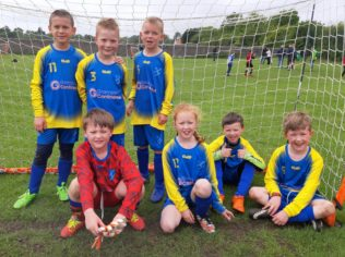 Kinellar Primary School Football Team